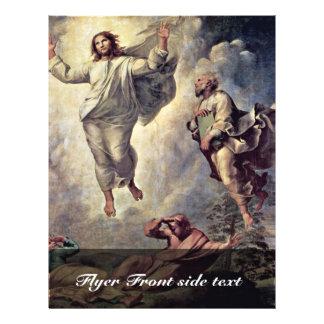 Transfiguration Of Christ Detail By Raffael Flyers