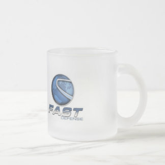 Transform fear into power frosted glass mug