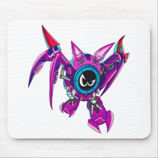 Transformable Battler Zauhawk Mousepad