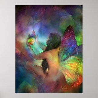 Transformation Art Poster/Print