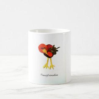 Transformation Bird Magazine Collage Classic White Coffee Mug