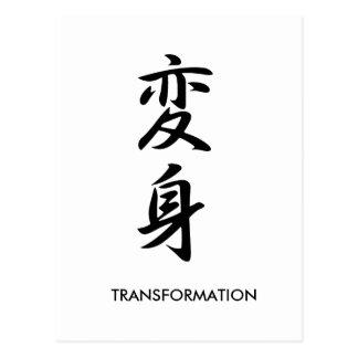 Transformation - Henshin Postcards