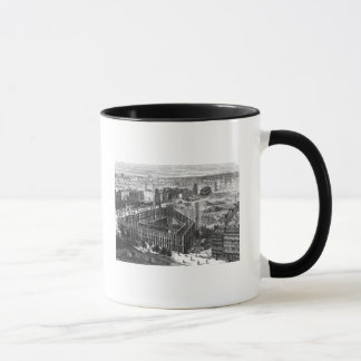 Transformation of Paris: Building in 1861 Mug