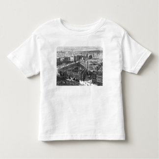 Transformation of Paris: Building in 1861 Toddler T-Shirt