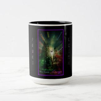 Transformational Energy Two-Tone Coffee Mug