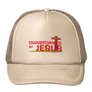 Transformed By JESUS Cap