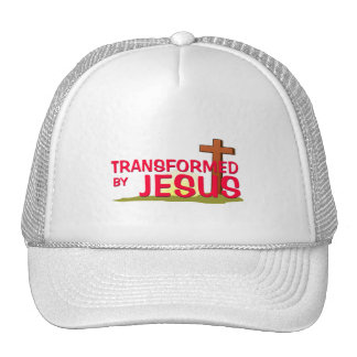 Transformed By JESUS Mesh Hat