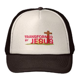 Transformed By JESUS Mesh Hats