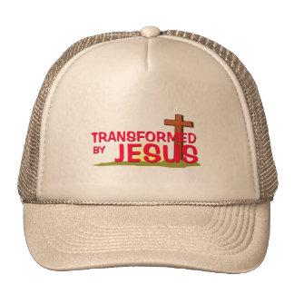 Transformed By JESUS Hats