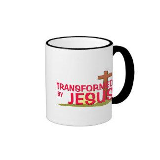 Transformed By JESUS Mugs