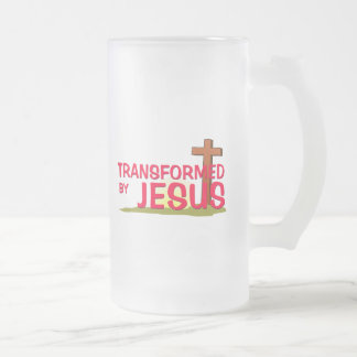Transformed By JESUS Coffee Mugs