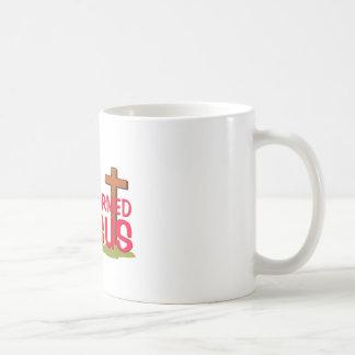 Transformed By JESUS Coffee Mug