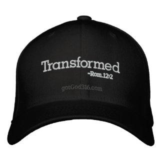 Transformed gotGod316 com Romans 12 2 Embroidered Hats