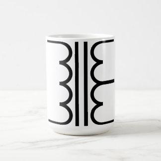 Transformer Basic White Mug