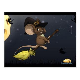 Transformice Halloween Postcard