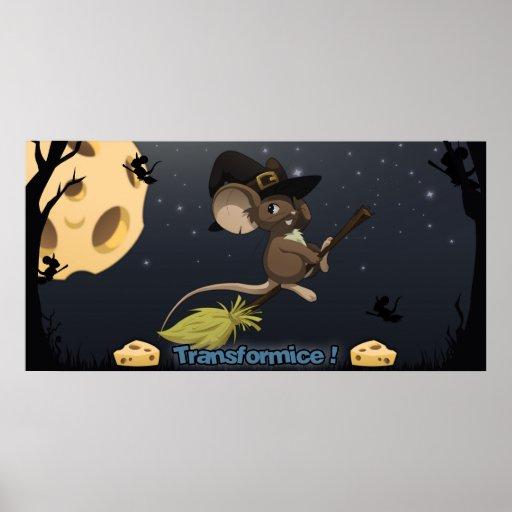 Transformice Halloween Poster