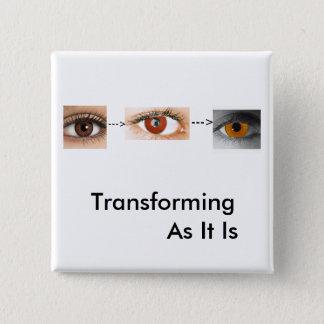 Transforming 15 Cm Square Badge