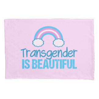 Transgender Beautiful Rainbow Pillowcase