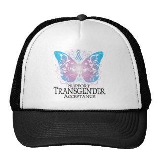 Transgender Butterfly Cap