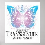 Transgender Butterfly Poster