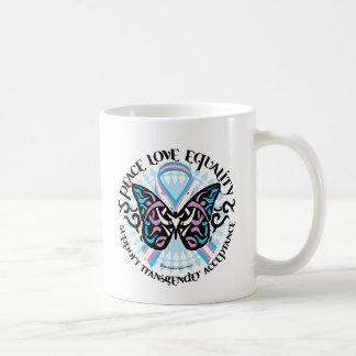 Transgender Butterfly Tribal Coffee Mugs