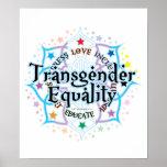 Transgender Equality Lotus Print
