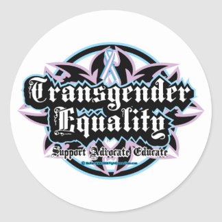 Transgender Equality Tribal Stickers