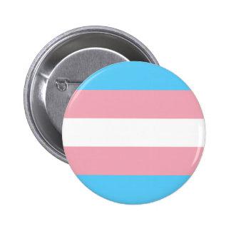 Transgender flag button