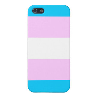 Transgender flag iPhone 5/5S cover