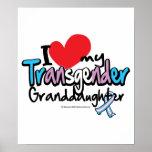 Transgender Granddaughter Print