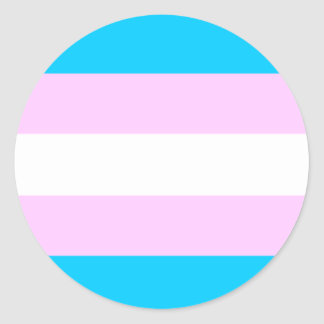 Transgender No-Mess Sticker