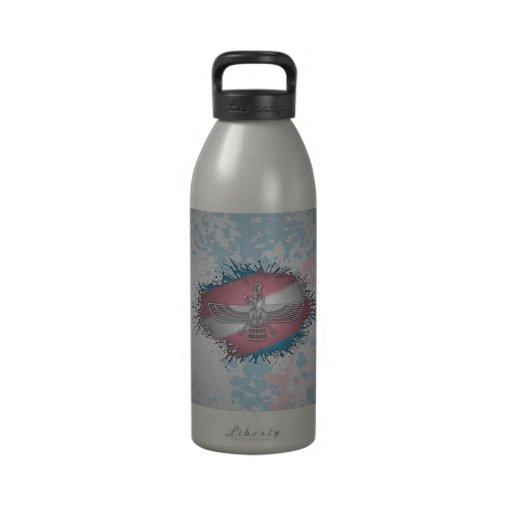 Transgender Pride Faravaharv Reusable Water Bottle