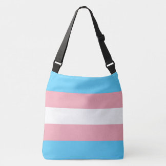 Transgender Pride Flag LGBT All-Over Print Crossbody Bag