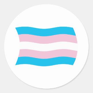 Transgender Pride Flag Sticker