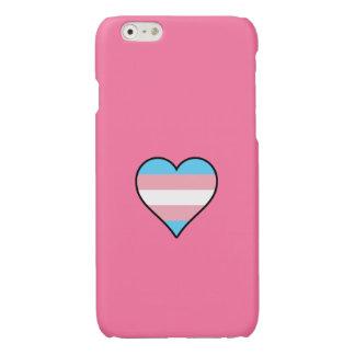 Transgender pride hearts iPhone 6 plus case