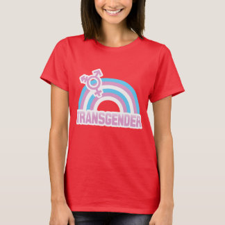 TRANSGENDER RAINBOW FLAG T-Shirt