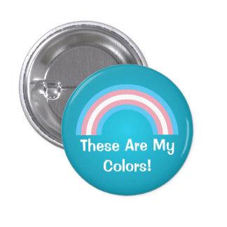 Transgender rainbow pride Button Pins