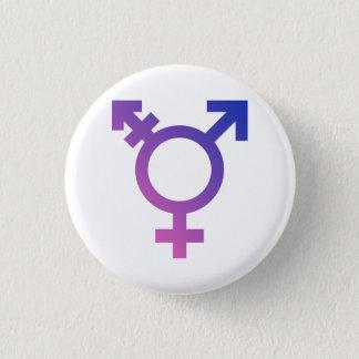 Transgender Symbol 3 Cm Round Badge