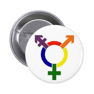 Transgender Symbol 6 Cm Round Badge