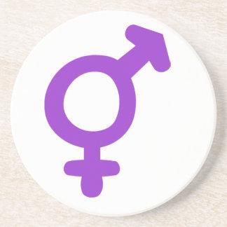 Transgender Symbol Coaster