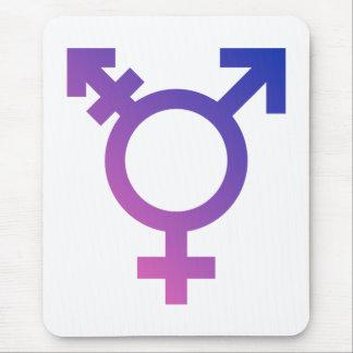 Transgender Symbol Logo Mouse Pad