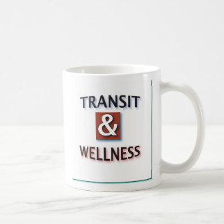 Transit and wellness, logo by dennis basic white mug