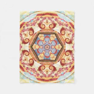 Transition Mandala 4 Custom Fleece Blanket, Small