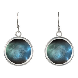 Translucent Taurus Earrings