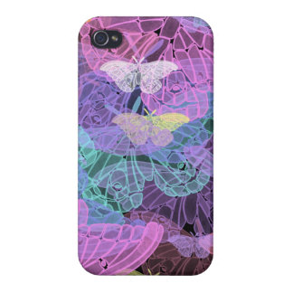 Transluscent Butterflies Abstract Art iPhone 4/4S Cases