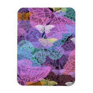 Transluscent Butterflies Abstract Art Vinyl Magnets