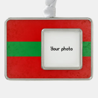 Transnistria Silver Plated Framed Ornament