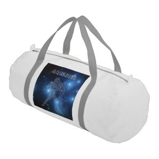 Transparent Aquarius Gym Bag