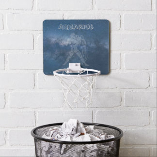 Transparent Aquarius Mini Basketball Hoop