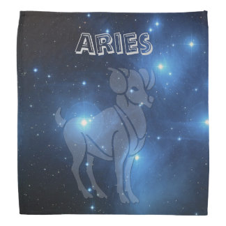 Transparent Aries Bandana